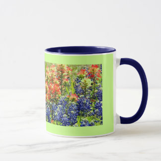 Bouquet of Blue Mug