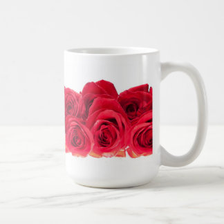 Bouquet of Bright Pink Roses Coffee Mug