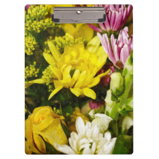 Bouquet Of Cheer Painterly Clipboards