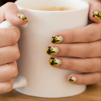 Bouquet Of Cheer Painterly Nails Stickers