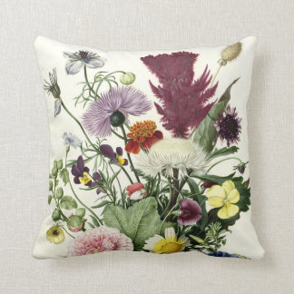 Bouquet of Flowers, Anonymous, 1680 Cushion