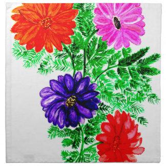 Bouquet of Flowers Art2 Napkin