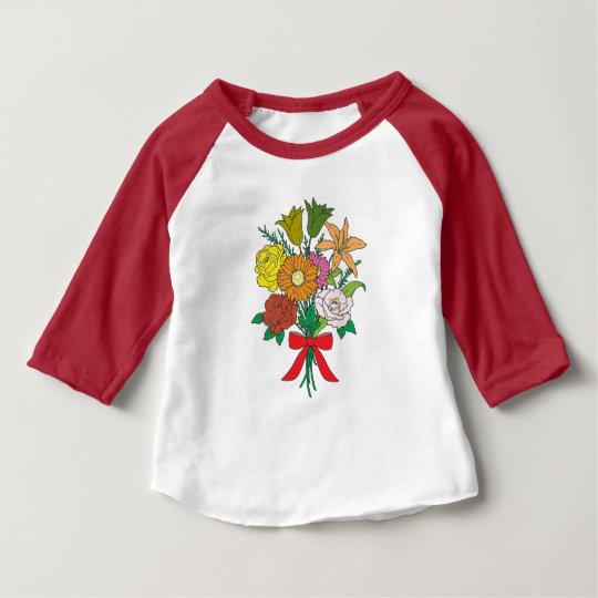 Bouquet of Flowers Baby T-Shirt