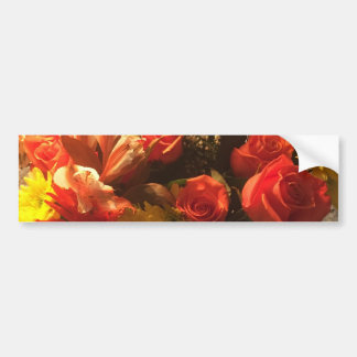 Bouquet of Flowers Bumper Sticker