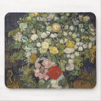 Bouquet of Flowers in a Vase Mouse Pad