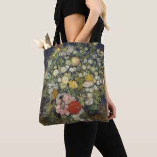Bouquet of Flowers in a Vase Tote Bag