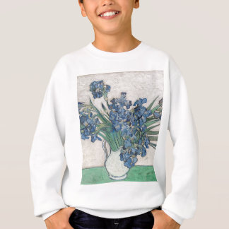 Bouquet of Flowers in Blue Shade Sweatshirt