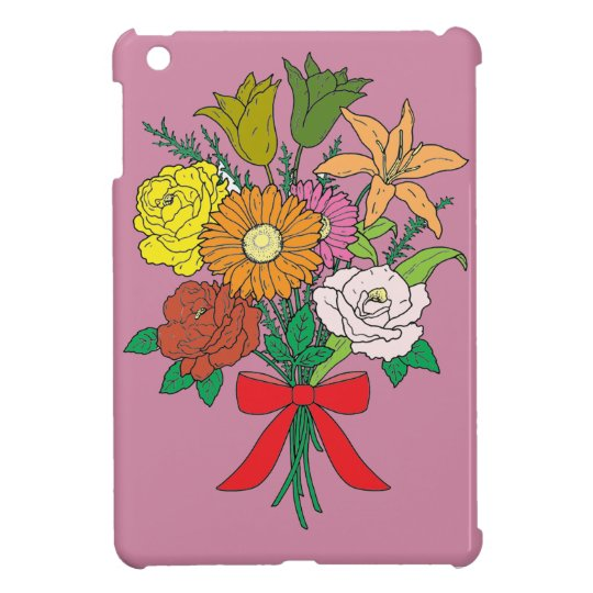 Bouquet of Flowers iPad Mini Covers