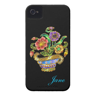Bouquet of Flowers iPhone 4 Case