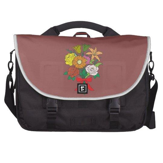 Bouquet of Flowers Laptop Computer Bag