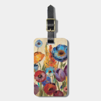 Bouquet of Flowers Tags For Bags