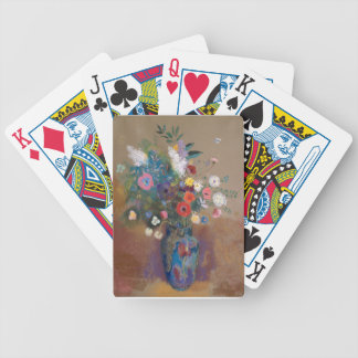 Bouquet of Flowers - Odilon Redon Bicycle Playing Cards