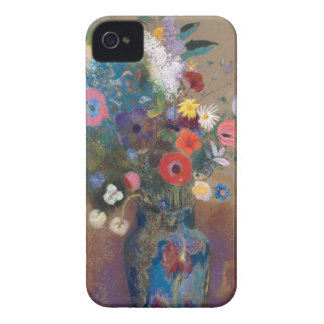 Bouquet of Flowers - Odilon Redon Case-Mate iPhone 4 Cases