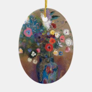 Bouquet of Flowers - Odilon Redon Ceramic Ornament
