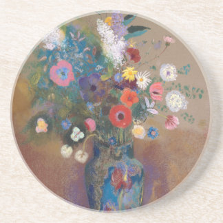 Bouquet of Flowers - Odilon Redon Coaster
