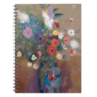 Bouquet of Flowers - Odilon Redon Notebook