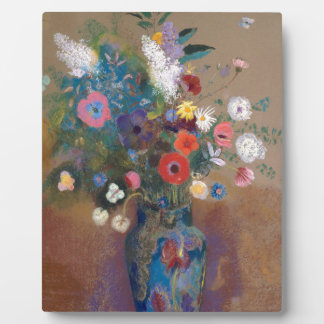 Bouquet of Flowers - Odilon Redon Plaque