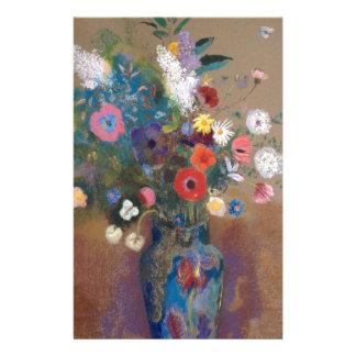 Bouquet of Flowers - Odilon Redon Stationery