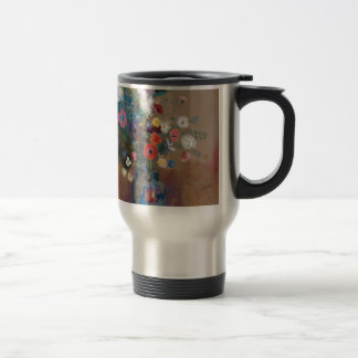 Bouquet of Flowers - Odilon Redon Travel Mug