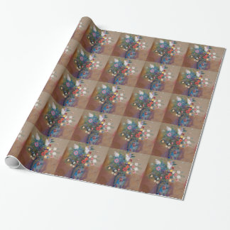 Bouquet of Flowers - Odilon Redon Wrapping Paper