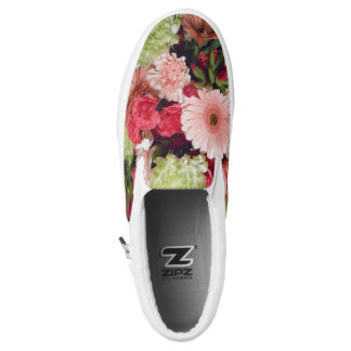 Bouquet of Flowers Slip-On Sneakers