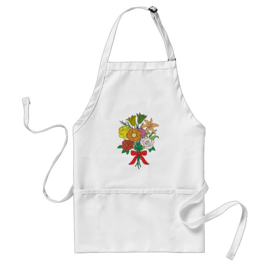 Bouquet of Flowers Standard Apron