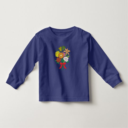 Bouquet of Flowers Toddler T-Shirt