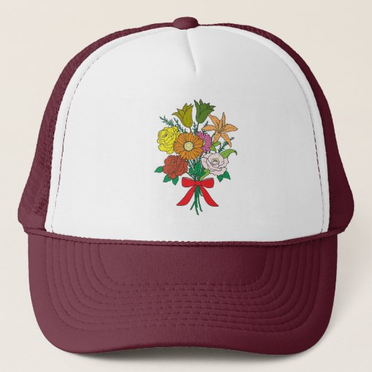 Bouquet of Flowers Trucker Hat