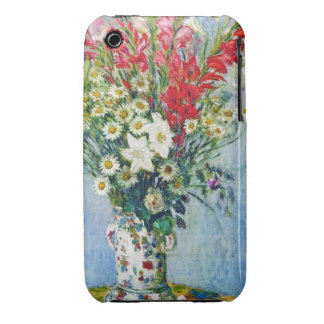 Bouquet of Gadiolas Lilies and Dasies Claude Monet Case-Mate iPhone 3 Cases