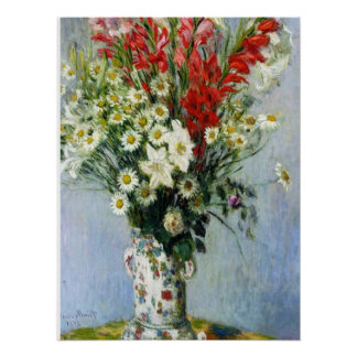 Bouquet of Gadiolas Poster