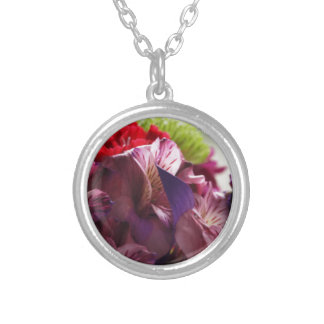 Bouquet of Love Silver Plated Necklace
