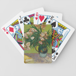 Bouquet of Pink Flowers in Vase Bicycle Playing Cards