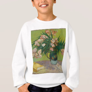 Bouquet of Pink Flowers in Vase Sweatshirt