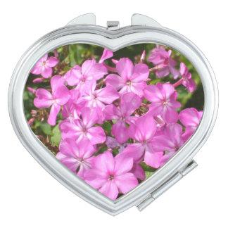 Bouquet of  Pink Flowers Vanity Mirror