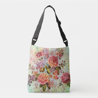 Bouquet of Roses Crossbody Bag