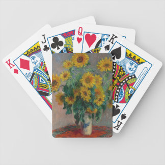 Bouquet of Sunflowers Bicycle Playing Cards