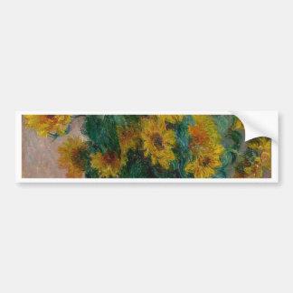 Bouquet of Sunflowers Bumper Sticker