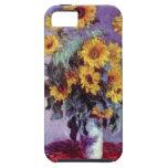 Bouquet of Sunflowers, Monet, Vintage Flowers Art iPhone 5 Cases