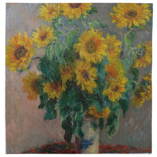 Bouquet of Sunflowers Napkin