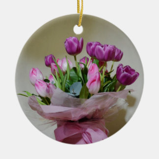 Bouquet of Tulips Ornaments