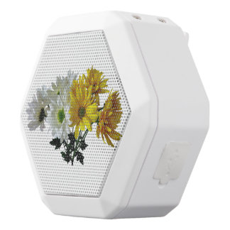 Bouquet Of Yellow and White Daisies White Boombot Rex Bluetooth Speaker