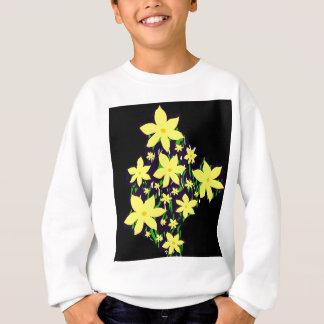 Bouquet of yellow flowers sweatshirt