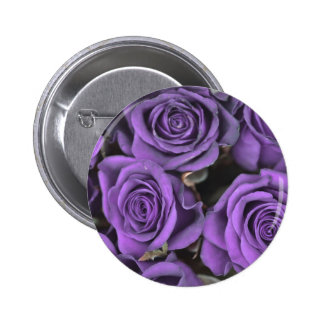 bouquet purple rose roses date rsvp bridal destiny 6 cm round badge
