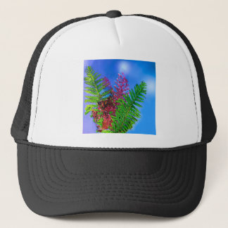 Bouquet with ferns.PNG Trucker Hat
