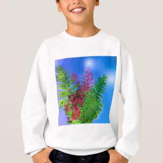 Bouquet with ferns sweatshirt