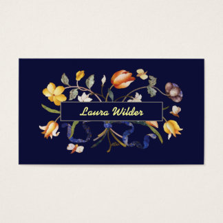 Bouquet with Tulips Business Card