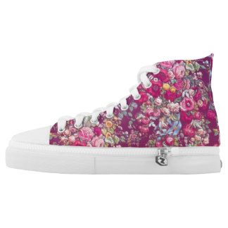 """Bouquety"" High Top Shoes"