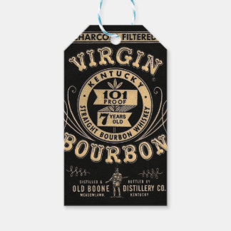 Bourbon commercial gift tags