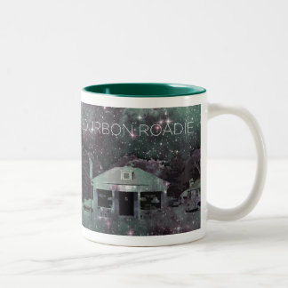 Bourbon Roadie Starry Night Two-Tone Coffee Mug
