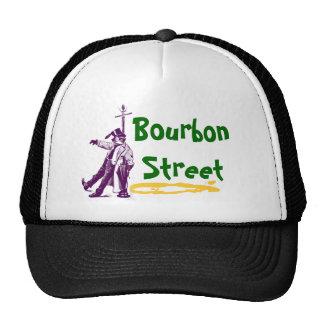 Bourbon Street New Orleans Classic Mardi Gras Gift Cap